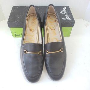 NIB Sam Edelman Lucie loafer black leather Sz9.5
